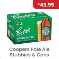 Coopers Pale Ale Carton $49.95
