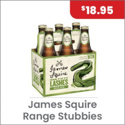 James Squire Range ^PACK $18.95